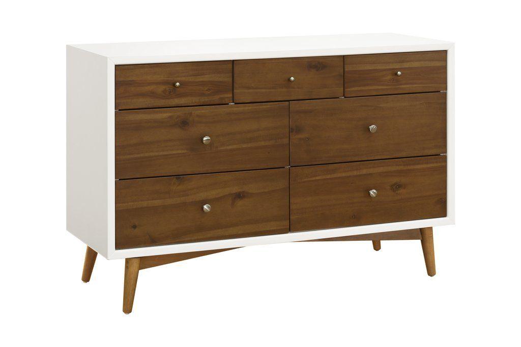 Best Palma 7 Drawer Assembled Double Dresser Double Dresser 400 x 300