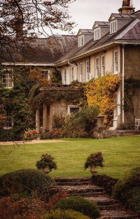 дворцы и дома | Английские загородные дома, Английские ...