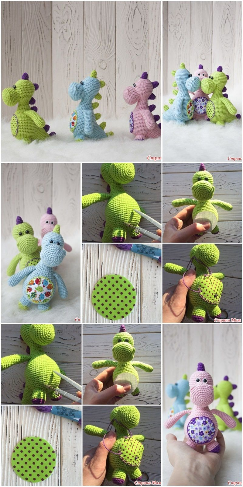 2019 All Best Amigurumi Crochet Patterns - Amigurumi #crochetdinosaurpatterns