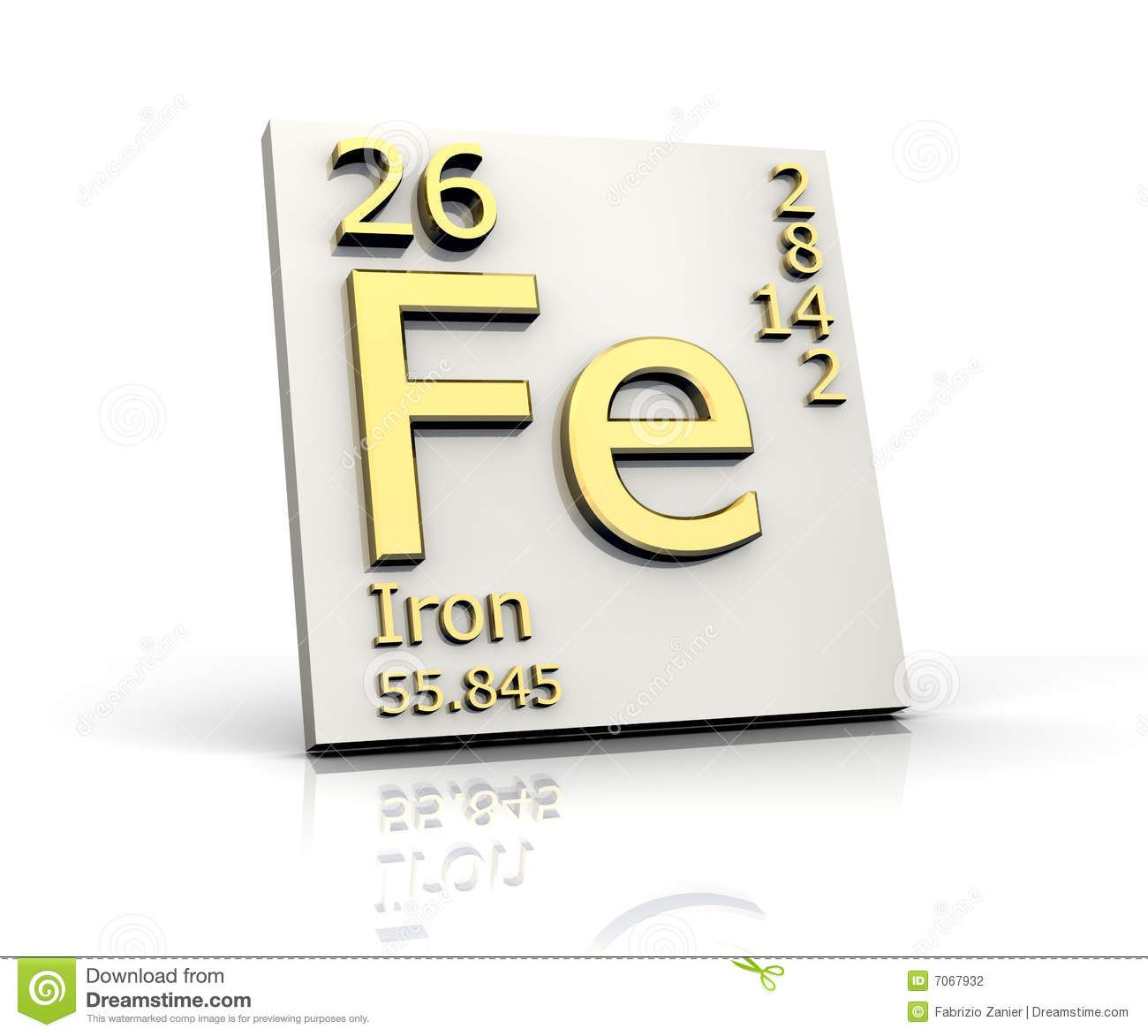 Images For Iron Periodic Table Square