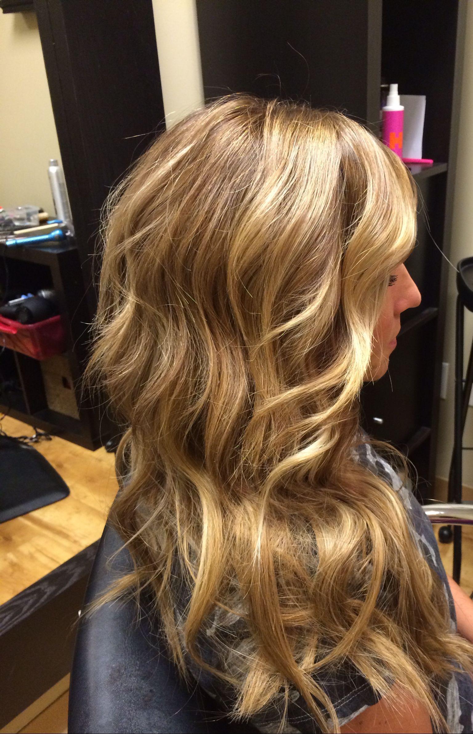 Honey blonde hair by dkw hair pinterest spring highlights and