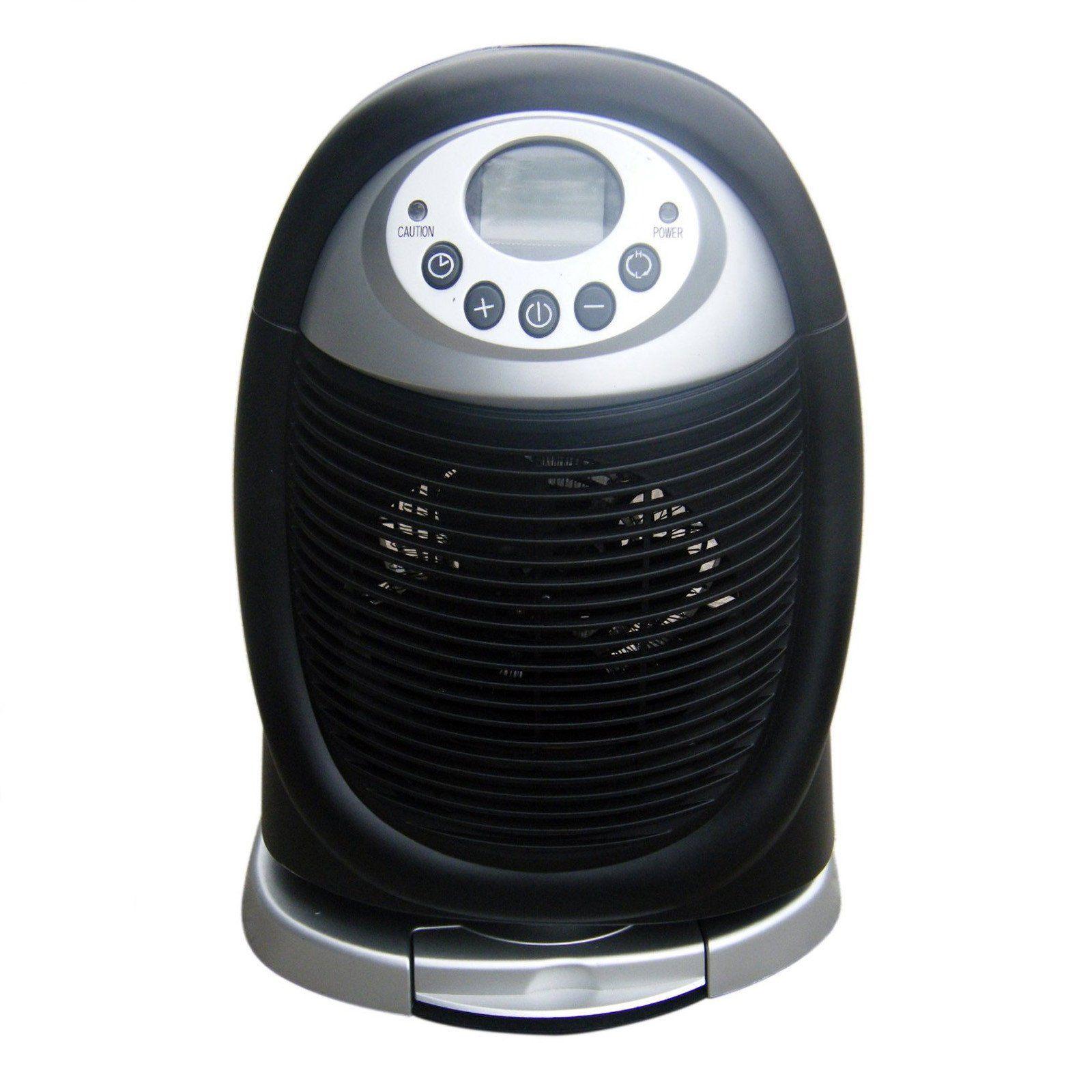 Digital Oscil Fan Heater. * 2 Heat settings (750 and 1500