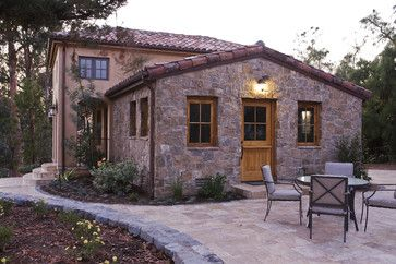 Los Altos Hills Winery - mediterranean - exterior - san francisco - Conrado - Home Builders