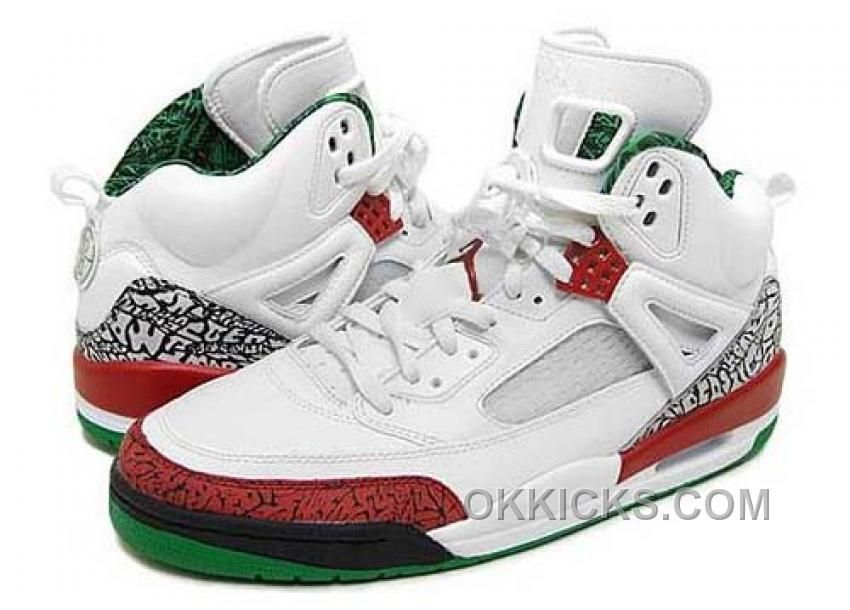 on sale 6173f caaf1 Buy Men s Nike Air Jordan Spizike Shoes White Varsity Red-Cool Grey-Classic  Green Top Deals RjPtt from Reliable Men s Nike Air Jordan Spizike Shoes ...