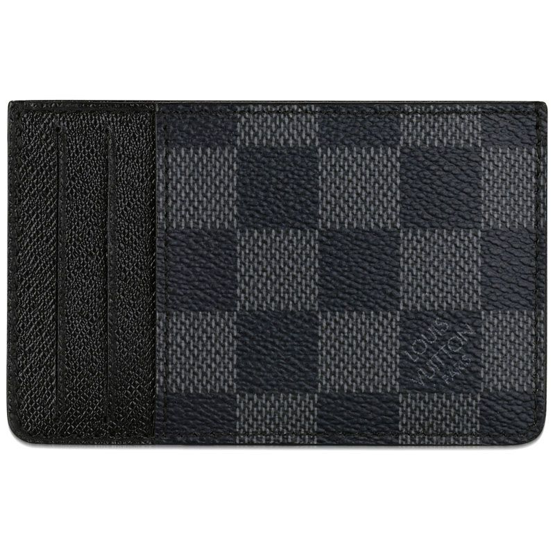 Louis Vuitton Damier Graphite Canvas and Cross Calf Linings | CARD ...
