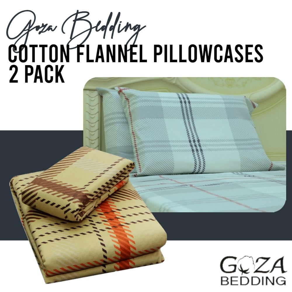 Recognizably soft to the touch, flannel is a woven
