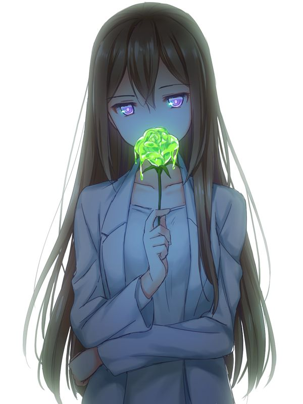 Anime girl oh my god a toxic flower that is so freaking - Cool anime girl pics ...