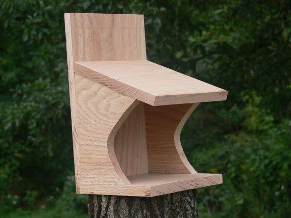 Robin nest shelf birdhouse nesting box by LukeTownsley on Etsy, $12.35