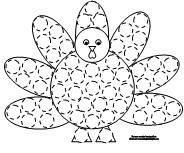 Thanksgiving dot marker pages repinned by PediaStaff Visit