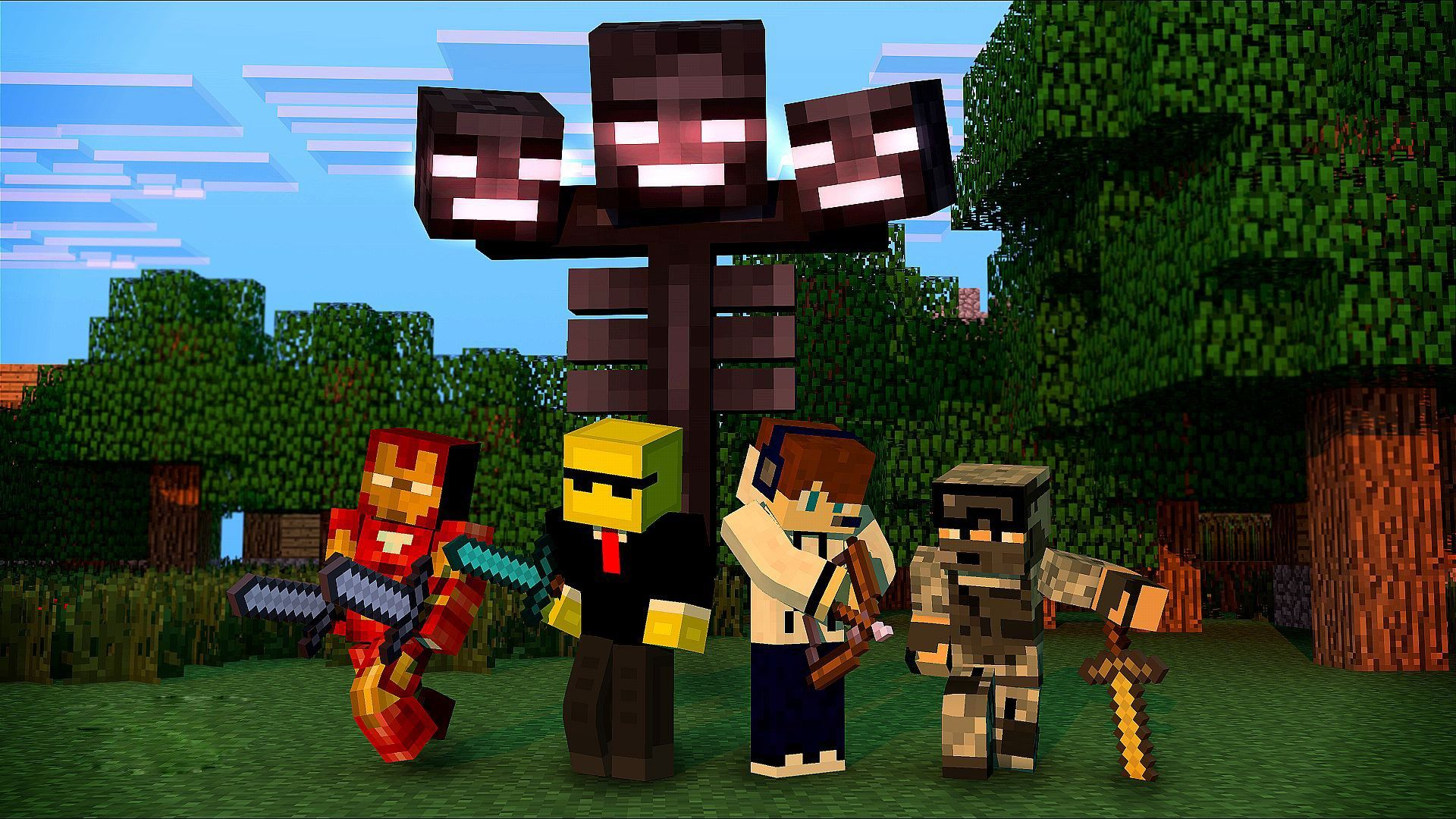 Free Hd Minecraft Wallpapers
