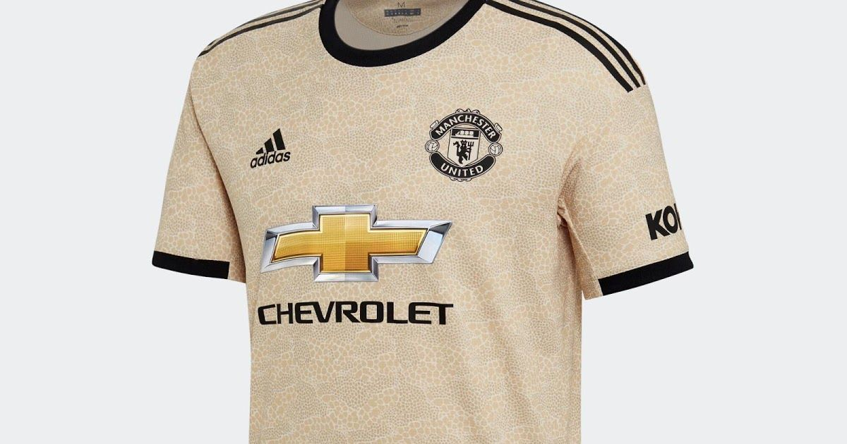 manchester united 19 20 away kit released footy headlines manchester united 19 20 awa in 2020 manchester united away kit manchester united t shirts world soccer shop pinterest