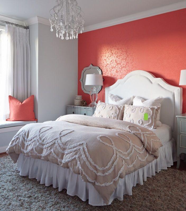 Coral Bedroom, Coral Room