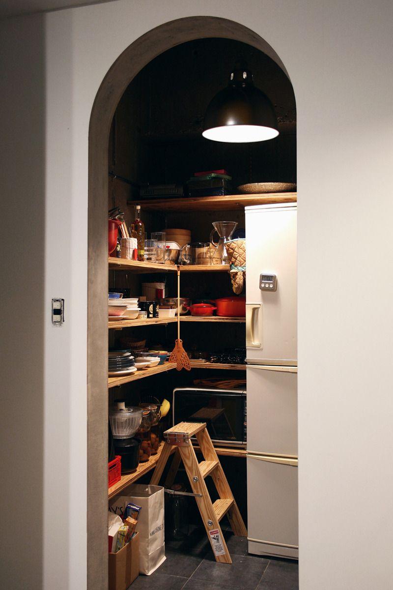 Kitchen キッチン パントリー Interior Renovation リノベーション