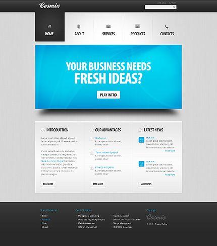 Template 32068 Psd Templates Templates Web Design