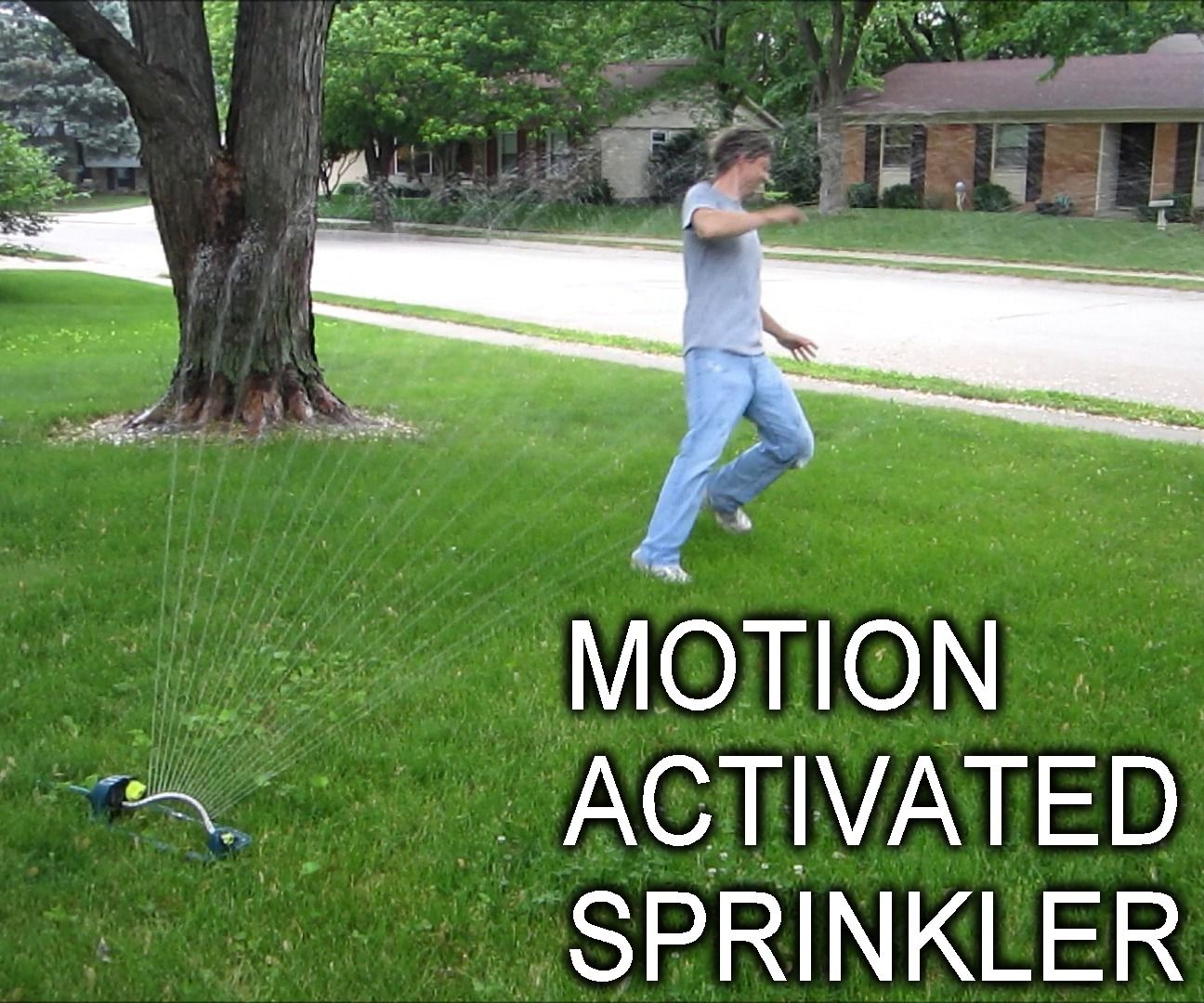 Keep Unwanted Visitors Away With A Motion Activated Sprinkler Motion Activated Sprinkler Sprinkler Motion