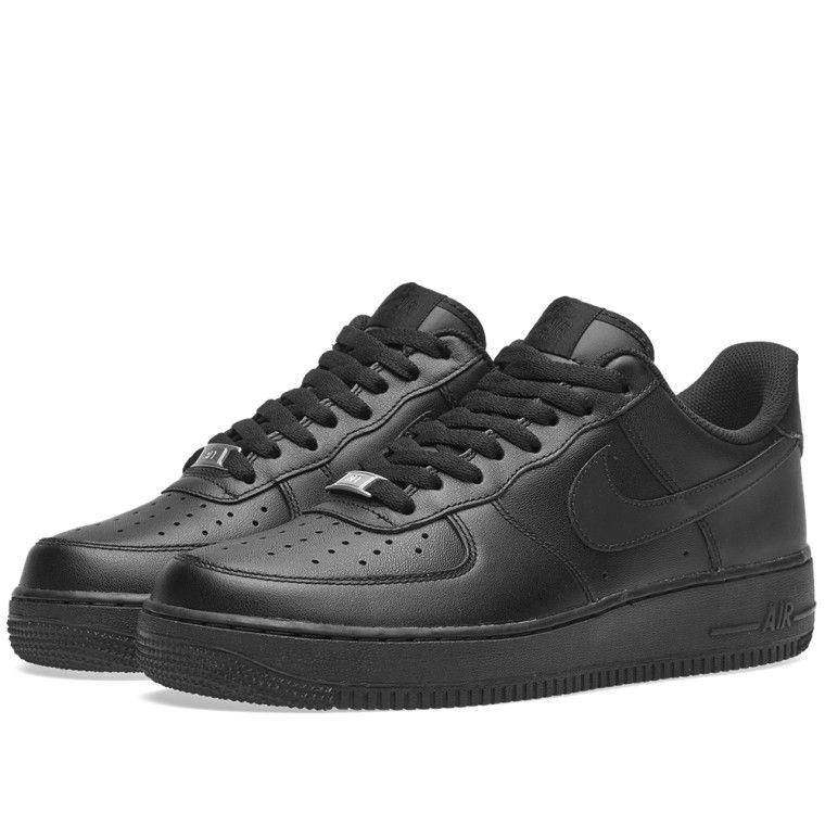 Nike Air Force 1 '07 Black 1 | Ropa para mi in 2019 | Nike
