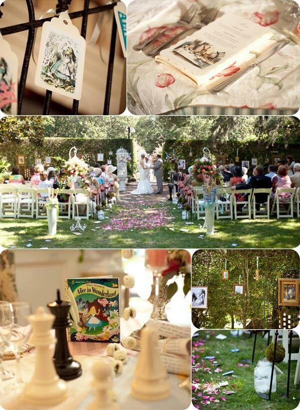 Wedding Wedding Alice In Wonderland Mad Hatter Pinterest