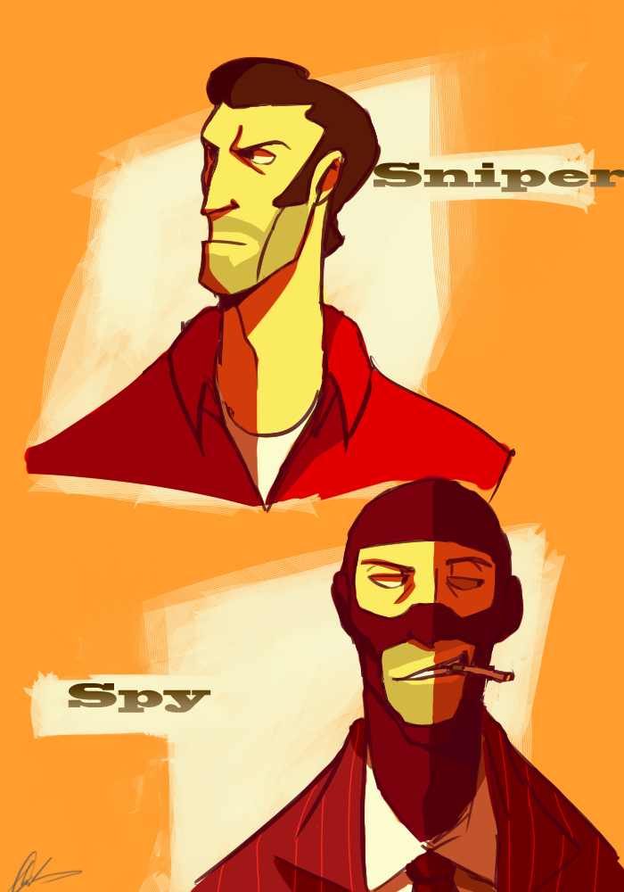 Sniper Spy By Blink2 Deviantart Com On Deviantart Team Fortress