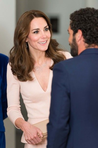 Kate Middleton Photos - Catherine, Duchess of Cambridge visits the 'Vogue 100: A Century Of Style' exhibition at National Portrait Gallery on May 4, 2016 in London, England. The Duchess appears on the cover of the centenary issue in June 2016. - The Duchess ...