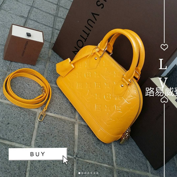 Lv Alma Bbr M3990 735 840 940 Sgd1300 Thb32100 Cash Price Jaune Monogram Vernis With Gold Hardwar Louis Vuitton Collection Lv Monogram Givency Antigona Bag