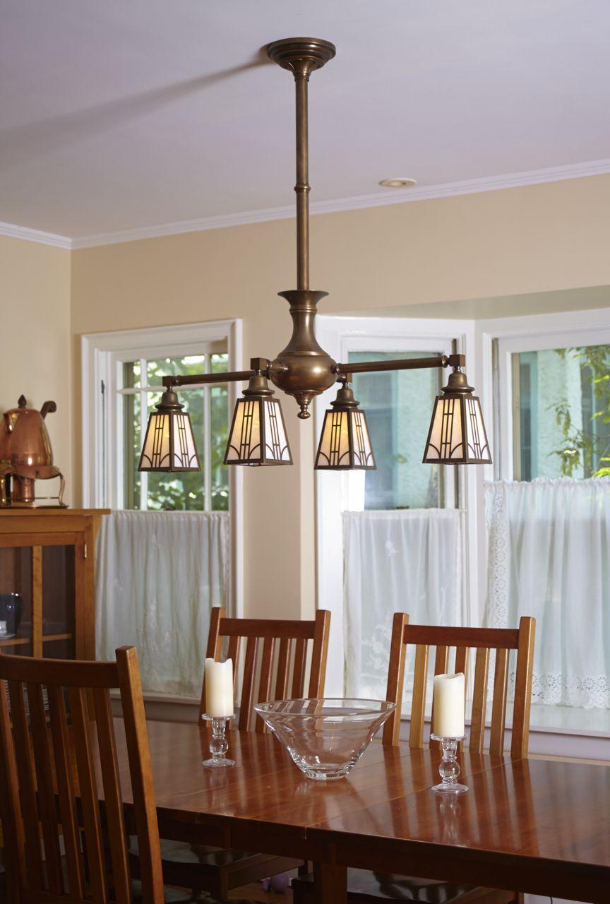 Four Light Chandelier With Lanterns Chandelier Lighting Commercial Lighting Design Interior Lighting