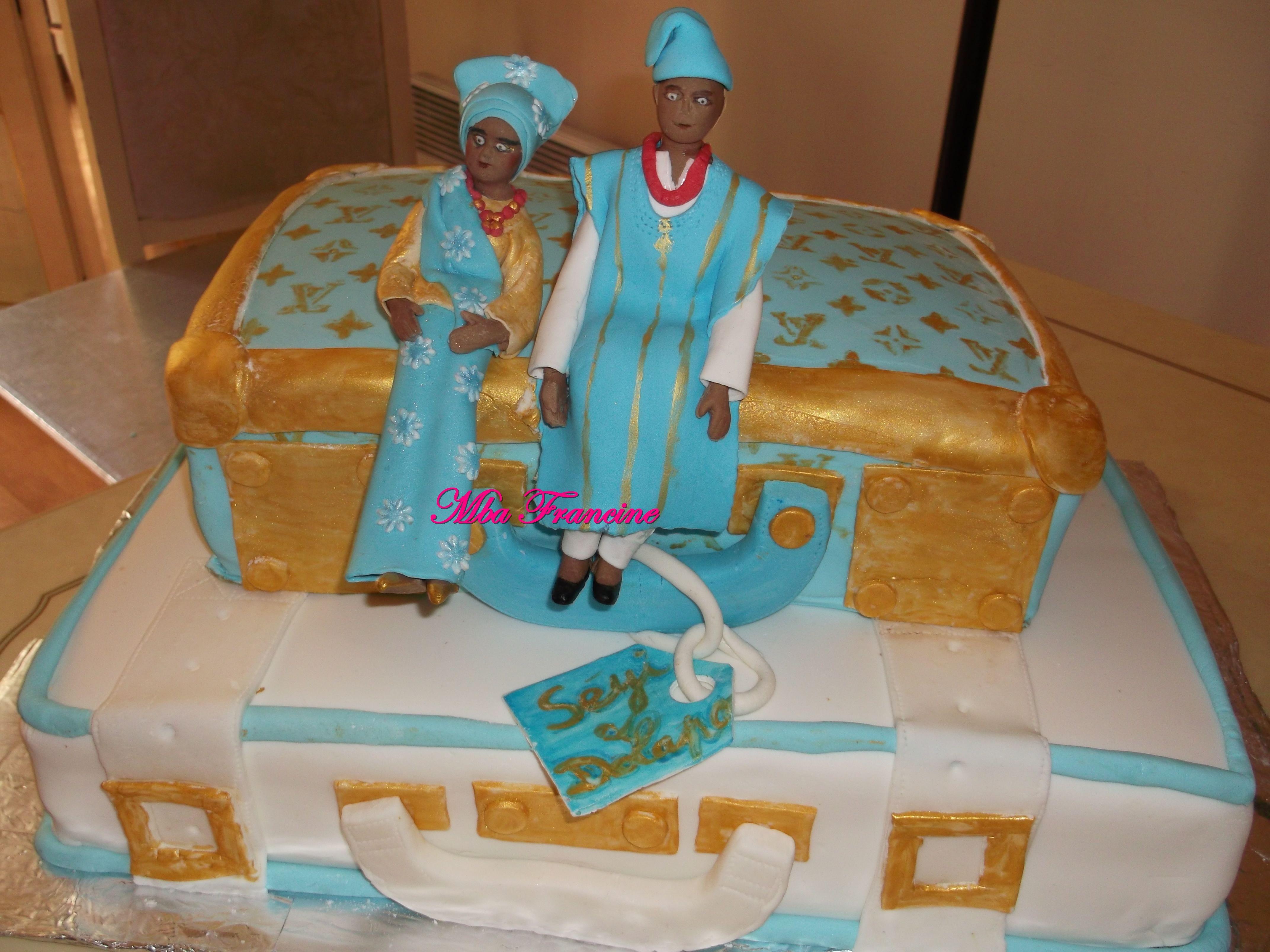 Nigerian wedding decoration images  Nigerian Wedding cake  Mes gateaux décoré cake design  Pinterest