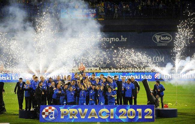 Dinamo Zagreb Champ 2012 Gnk Dinamo Zagreb Zagreb Soccer Field