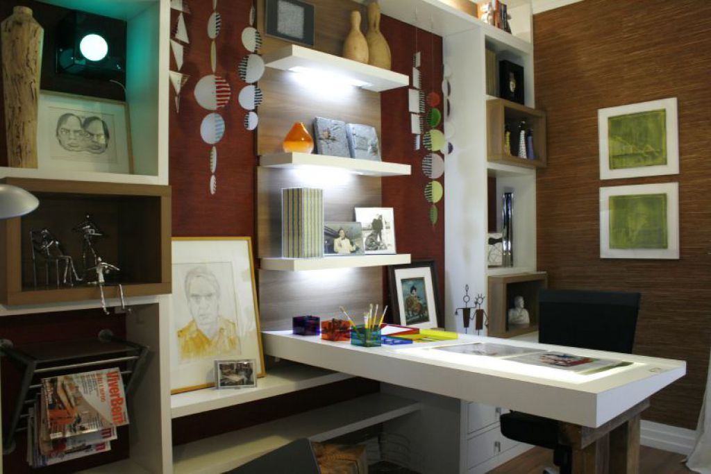 feng shui bedroom office. Home Office With Open Shelves And L Shaped Desk Feng Shui Bedroom O