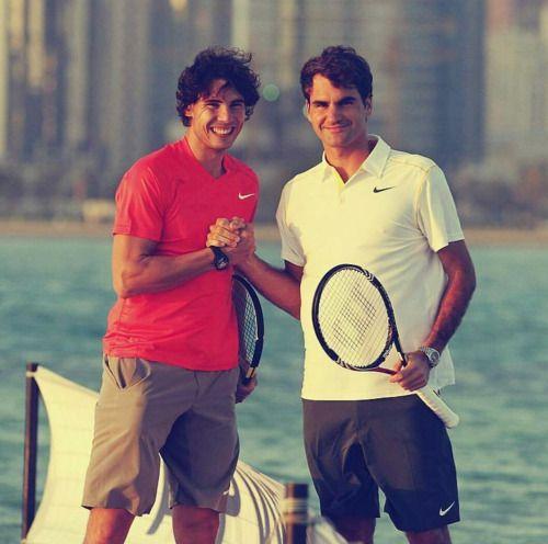 Rafa And His Boyfriend Tennis Players Roger Federer Rafael Nadal