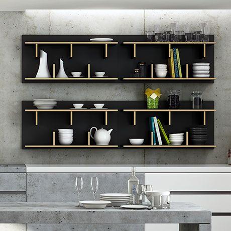 bern wandregal schwarz alt image two m bel pinterest regal wandregal und m bel. Black Bedroom Furniture Sets. Home Design Ideas