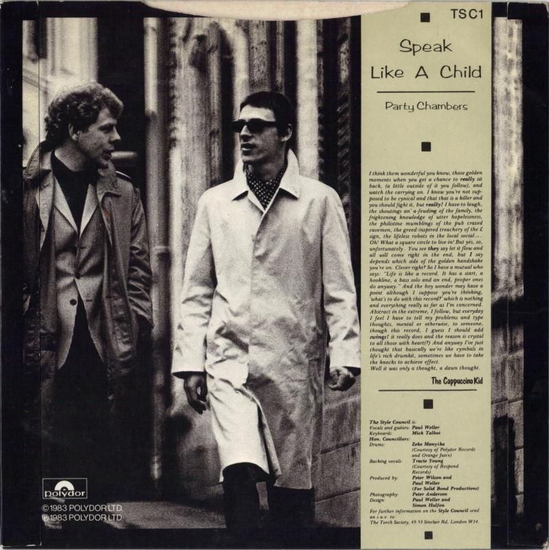 45cat - The Style Council - Sp...