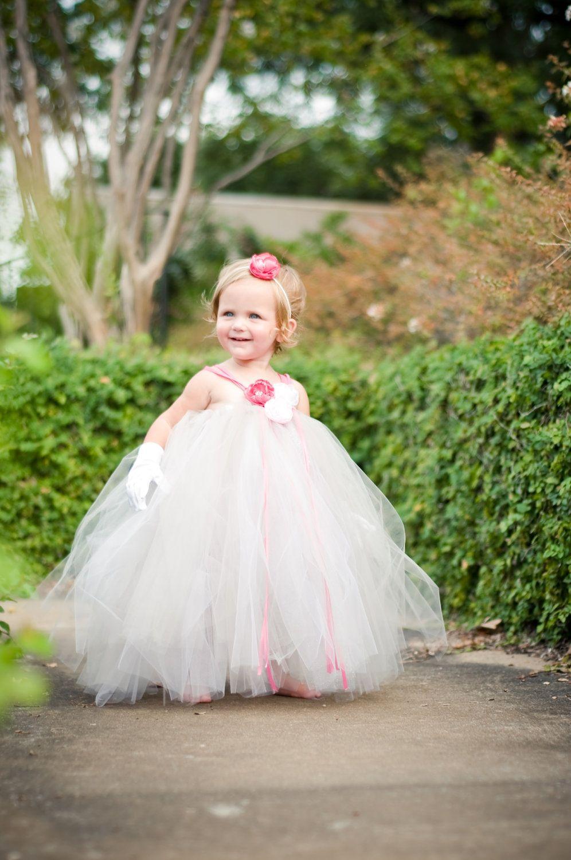 Toddler Flower Girl Tutu Dress-Silver, Gray | flower girl ...