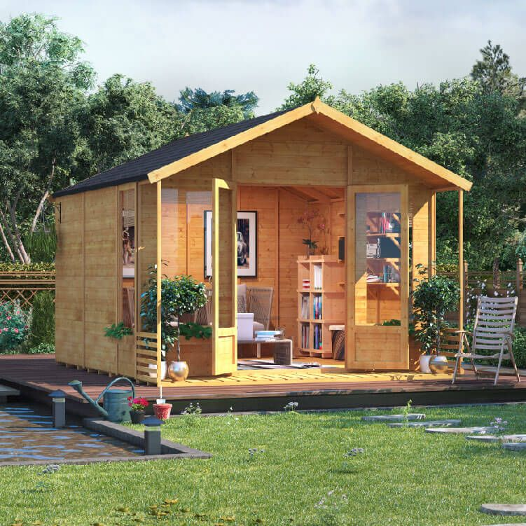 BillyOh Ivy Tongue and Groove Apex Summerhouse - Summer Houses ...