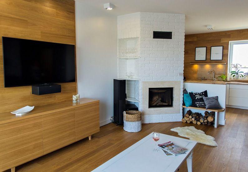 Aranzacja Salonu Z Kominkiem Lovingit Pl Home House Design Interior