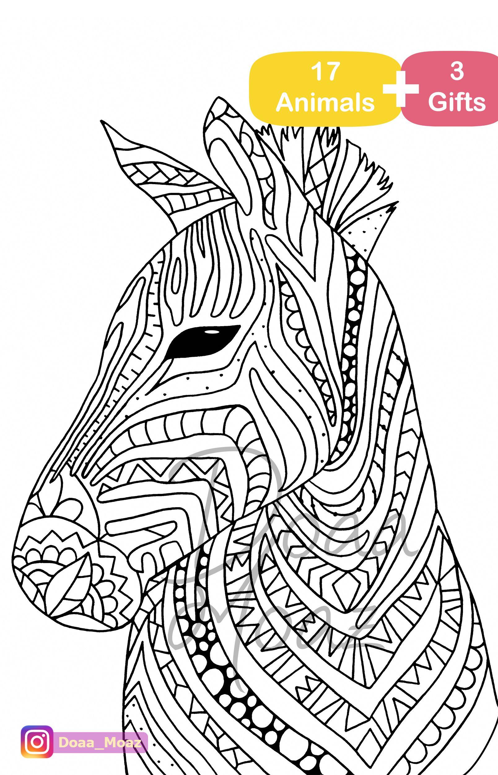 Animal Coloring Book Pdf