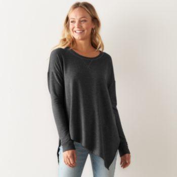 17430a409a091 Women s SONOMA Goods for Life™ Asymmetrical Soft Tunic