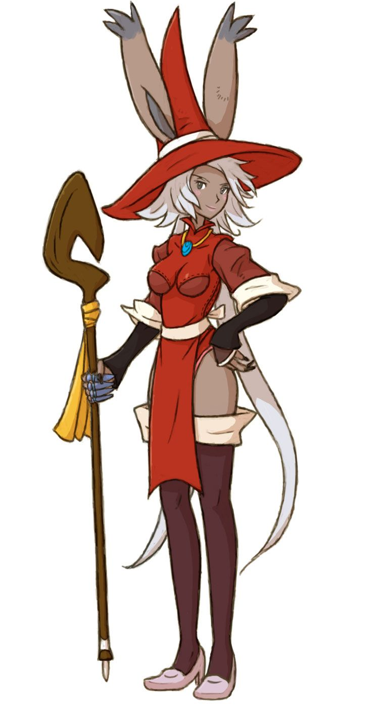 Final Fantasy Tactics Advance 2 Viera Red Mage by