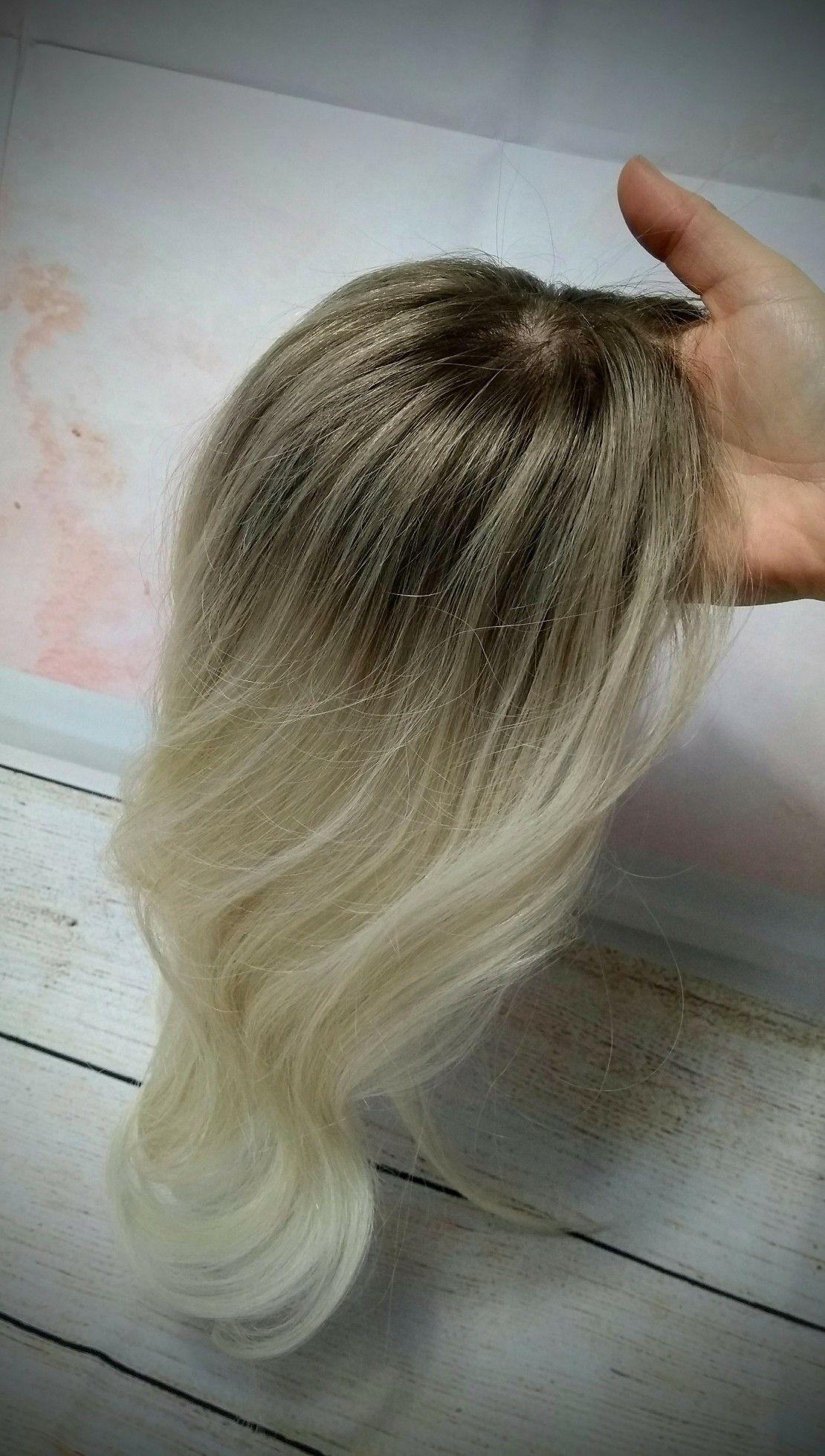 Park Art My WordPress Blog_Blonde Human Hair Topper With Bangs
