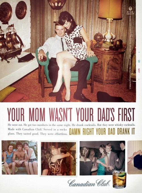 Your mom wasn't your dad's first.