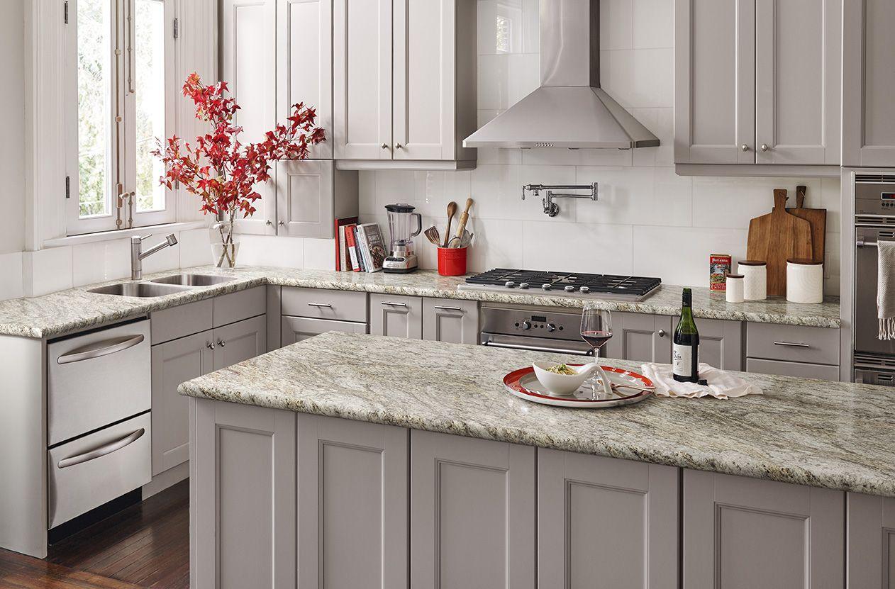 Wilsonart Granito Amarelo Laminate Countertops Granite Backsplash Kitchen Benchtops
