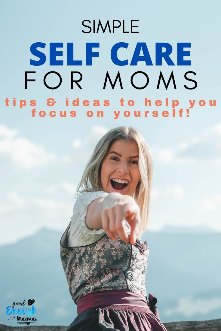 These self care ideas will help you take better care of yourself! We all know moms are busy but here are a variety of ideas you can actually do! Taking time for yourself actually does make you a better mom. #selfcare #selfcaretips #selfcarehacks #selfcareideas #selfcareformoms #motherhood #momtips #momhacks #momlife #motherhoodtips #celebratemotherhood #adviceformoms #motherhoodadvice #goodenoughmama