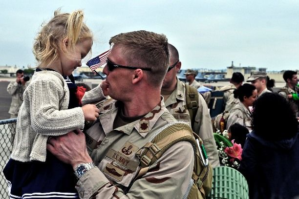 US Navy EOD officer comes home | US Navy | Pinterest | Us navy ...