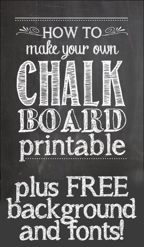 i want to learn how to make my own chalkboard christmas cards how to make chalkboard printables 479x600