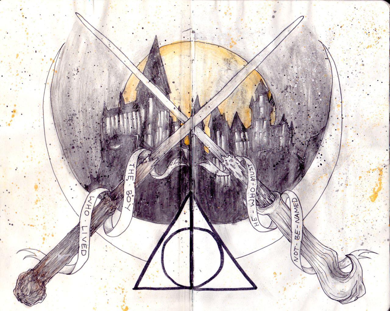Harry Potter Illustrative Notebook Sorcerers Stone By