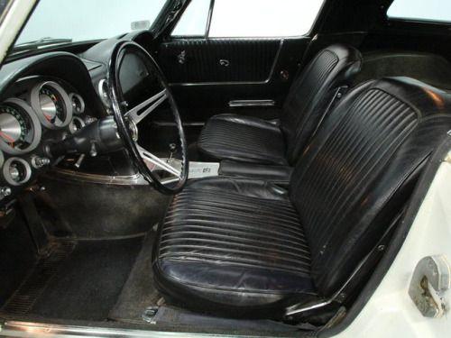 1963 Corvette Sting Ray Interior