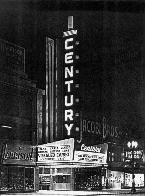 Century Theatre, 511 Main Street, Buffalo, NY  Closed