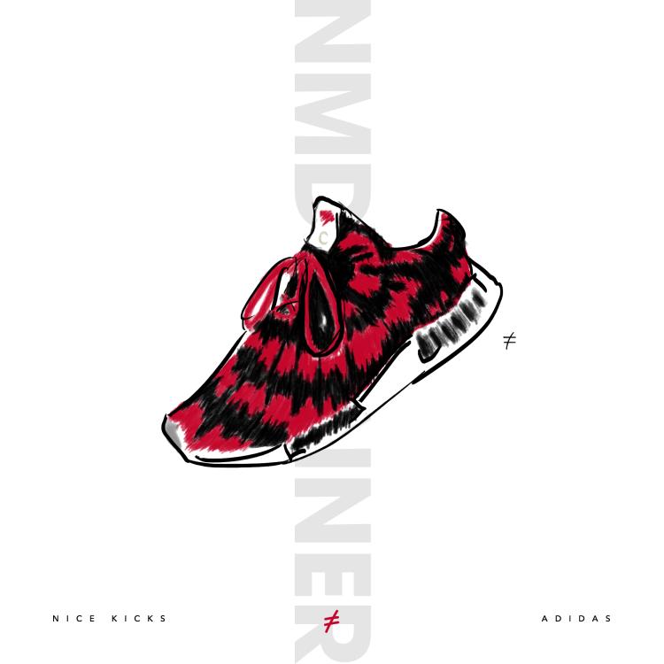 61d6331d18856b Nice Kicks x Adidas NMD Runner PK  sneakerart by  who.is.soled ...