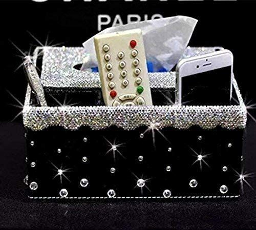 Best Tishaa Multifunction Crystal Bling Decoraged Black 640 x 480