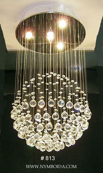 Crystal chandelier home pinterest iluminacin y interiores crystal chandelier aloadofball Choice Image