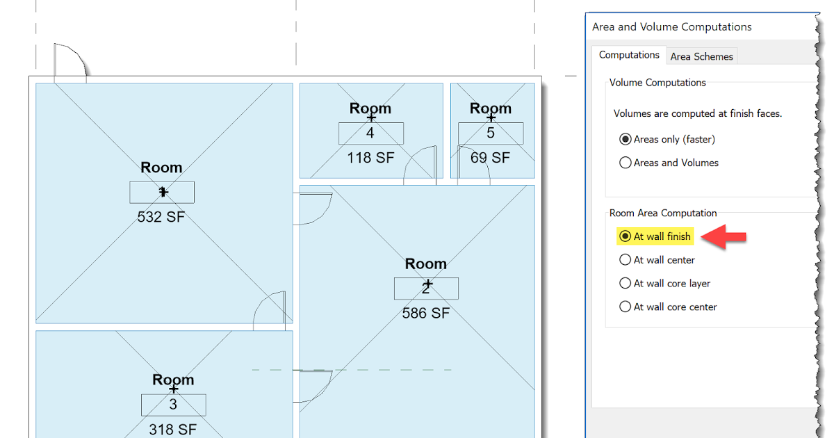 Following Up On Last Week S Part I On A Basic Post About Revit S Room And Space Area Calculations I Wrote Today S Post Our Main Areas Basic Calculate Area